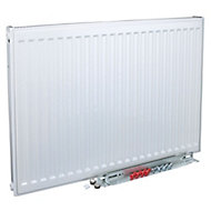Kudox Type 11 single Panel radiator White, (H)600mm (W)400mm