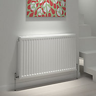 Kudox Type 21 double plus Panel radiator White, (H)600mm (W)1400mm