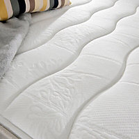 Silentnight Miracoil micro quilted Single Divan set