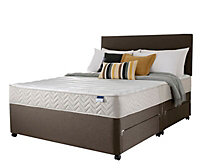 Silentnight Miracoil micro quilted Super king Divan set