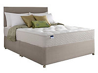 Silentnight Miracoil tufted ortho Double Orthopedic divan set