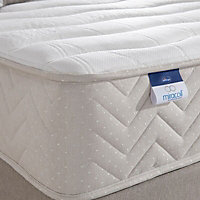 Silentnight Miracoil memory fibre King size Mattress & divan set