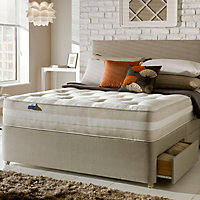 Silentnight Mirapocket classic 1200 Single 2 drawer Mattress & divan set