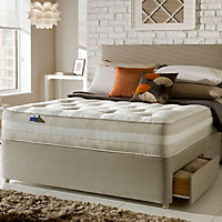 Silentnight Mirapocket classic 1200 Double 4 drawer Mattress & divan set