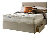 Silentnight 1200 Mirapocket classic Super king size 2 drawer Mattress & divan set