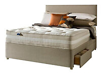 Silentnight Mirapocket classic 1200 4 Drawer Super king Divan set