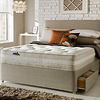 Silentnight 1200 Mirapocket classic Super king size 4 drawer Mattress & divan set