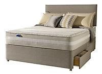 Silentnight 1200 Mirapocket memory King size 2 drawer Mattress & divan set