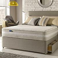 Silentnight 1200 mirapocket memory Super king size 2 drawer Mattress & divan set