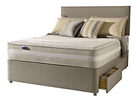 Silentnight Mirapocket memory 1200 Memory foam 4 Drawer Super king Divan set