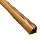 D-Line Natural 30mm Semi-circle Trunking length, (L)2m