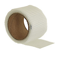 Homelux White Jointing tape (L)10m (W)50mm