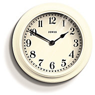 Jones Opers Linen white Clock