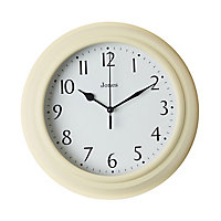 Jones Can Yellow Clock