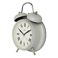 Jones Rise & shine Grey Alarm Clock
