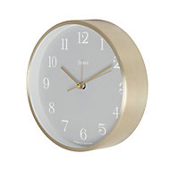Jones Contemporary Bronze effect Quartz Mantle clock