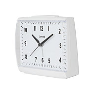 Jones Dreamland White Alarm Clock
