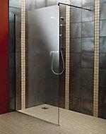 Aquadry Straight Shower screen, (W)1200mm