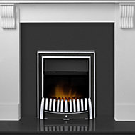 Adam Victoria Contemporary Fire Suite (H)1175mm (D)381mm