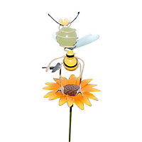Oakthrift Cute bee Decorative stake