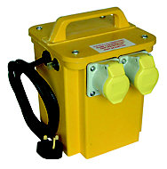 Carroll & Meynell Yellow 750VA Site transformer