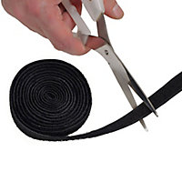 D-Line Black Cable tie (L)1200mm