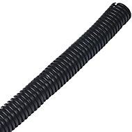 D-Line Black 25mm Cable wrap, (L)1.1m