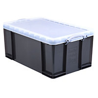 Really Useful Grey 64L Plastic Storage box