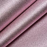 Muriva Sparkle Pink Texture Metallic glitter Wallpaper