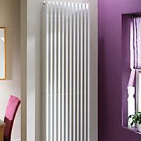Kudox Xylo Vertical Designer Radiator, White (W)500mm (H)1800mm