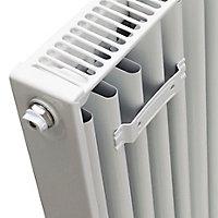 Kudox Type 21 Double Panel Radiator, White (W)500mm (H)500mm
