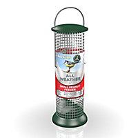 Peckish Stainless steel Peanut All weather Bird feeder 0.7L