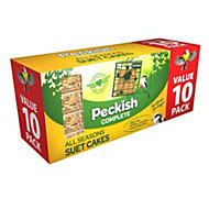 Peckish Complete Suet cakes 3000g, Pack of 10