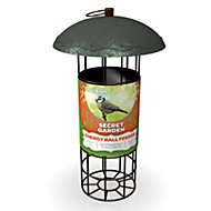 Peckish Steel 0.7L Energy ball feeder (H)340mm (W)700mm (L)260mm