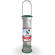 Peckish Stainless steel Suet & peanut All weather Bird feeder 0.7L