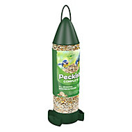 Peckish Complete Plastic Seed mix & feeder 0.4L