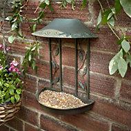 Peckish Green Bird feeder (H)325mm (W)260mm