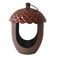 Peckish Acorn treat bird feeder (H)190mm (W)140mm