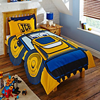JCB Joey Yellow Single Bedding set