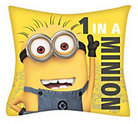 Minions Character Yellow Cushion
