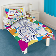 Mister Maker Colour & play Multicolour Single Bedding set