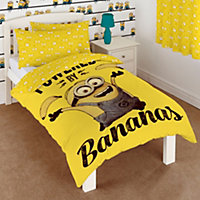 Minions Yellow Single Bedding set