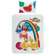 Twirlywoos Multicolour Junior Bedding set