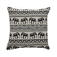 Elephant Monochrome Cushion