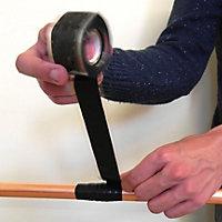 U-Can Black Self-fusing silicone tape (L)3m (W)112mm