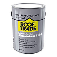 Rooftrade Silver Solar reflective aluminium paint 5000ml