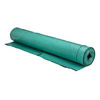Capital Valley Plastics Ltd Green 300 Micron Damp proof membrane, (L)25m (W)4m