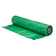 Capital Valley Plastics Ltd Green 125 Micron Moisture barrier, (L)30m (W)2.5m