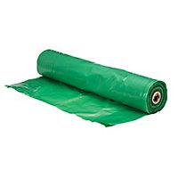 Capital Valley Plastics Ltd Green 125 Micron Moisture barrier, (L)30m (W)2.5m