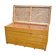 Shire Wooden 4x2 Garden storage box